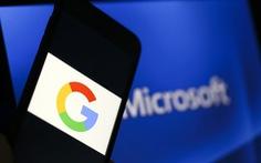 Google và Microsoft chấm dứt thỏa thuận 'đình chiến'