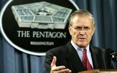 Cựu bộ trưởng quốc phòng Mỹ Donald Rumsfeld qua đời