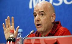 Chủ tịch FIFA Infantino: 'Giờ đây mọi người dân Thụy Sĩ đều trở thành cầu thủ bóng đá'