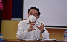 Bí thư Thành ủy TP.HCM gặp gỡ các chuyên gia, nhà khoa học cùng bàn cách chống dịch COVID-19