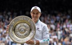 Ashleigh Barty lần đầu vô địch Wimbledon