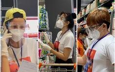 H'Hen Niê, Đại Nghĩa, Quỳnh Hoa... đi siêu thị giúp người dân