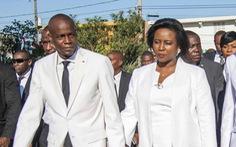 Đệ nhất phu nhân Haiti lần đầu lên tiếng về việc chồng bị ám sát