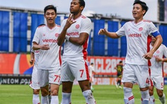 Viettel chia tay AFC Champions League bằng chiến thắng sát nút trước Kaya FC