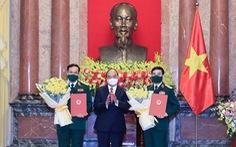 Thăng quân hàm đại tướng cho Bộ trưởng Bộ Quốc phòng Phan Văn Giang