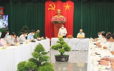 Phó thủ tướng Trương Hòa Bình kiểm tra phòng, chống dịch tại Đồng Nai