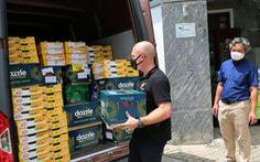 New Zealand gửi trái cây ủng hộ TP.HCM chống dịch