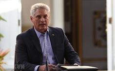 Chủ tịch Diaz-Canel lên tiếng về biểu tình ở Cuba