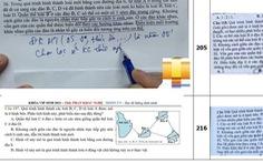 Bộ GD-ĐT nói gì về đề sinh tốt nghiệp THPT giống nội dung ôn tập của một giáo viên?
