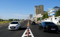 Đà Nẵng thông xe cầu vượt nút giao thông phía tây cầu Trần Thị Lý