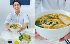 Hứa Vĩ Văn nấu bún bò Huế theo 'linh cảm ẩm thực trời phú'