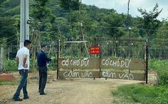 Ngang nhiên ủi đất nông nghiệp và đất rừng, còn thách thức chính quyền