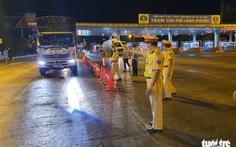 Tổng cục Đường bộ khuyến cáo bố trí tài xế dự phòng cho xe chở hàng đường dài