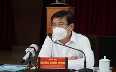 Chủ tịch UBND TP.HCM Nguyễn Thành Phong: 'Tuyệt đối không để bà con thiếu đói'
