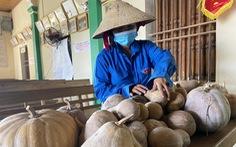 Bà con xứ Nghệ gom rau, làm khô cá gửi người dân TP.HCM