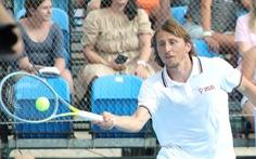 Luka Modric vô địch... quần vợt ở quê nhà