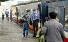 Tàu hỏa dừng bán vé và đón, trả khách tại các ga ở Đồng Nai