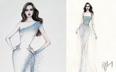 Lộ diện mẫu thiết kế đầm dạ hội của Đỗ Thị Hà tại Miss World 2021