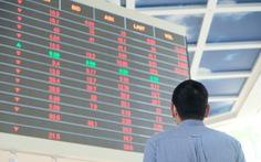 Cổ phiếu của nhiều công ty chứng khoán tăng trần lúc thị trường lao dốc