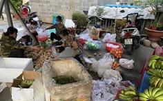 'Nhóm dễ thương' gom hơn 10 tấn rau củ tặng bếp ăn dã chiến, khu vực phong tỏa TP.HCM