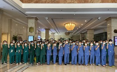 Saigontourist Group hỗ trợ phục vụ y, bác sĩ tiếp ứng TP.HCM chống dịch COVID-19