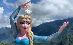 Nữ hoàng băng giá Elsa ở Sa Pa bị 'ném đá', chủ điểm kinh doanh nghi bị 'chơi xấu'