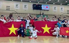 Đội tuyển futsal Việt Nam tập trung 22 cầu thủ chuẩn bị cho World Cup 2021