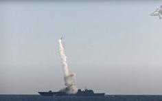Nga phóng thành công tên lửa siêu thanh từ tàu chiến