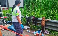 Bé 2 tuổi bị bỏ rơi khi vượt biên cùng cha đã được đưa về với mẹ