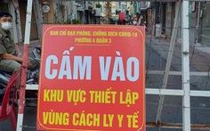 Phong tỏa đường Vườn Chuối và đường Nguyễn Thượng Hiền vì có 37 ca COVID-19