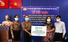 Van Phuc Group ủng hộ 5 tỉ đồng Quỹ vắc xin COVID-19