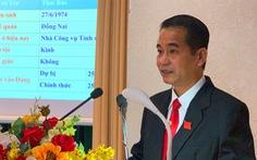 Ông Thái Bảo làm tân chủ tịch HĐND tỉnh Đồng Nai