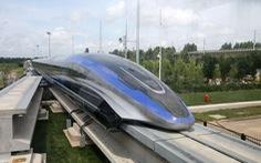Trung Quốc ra mắt tàu đệm từ vận tốc nhanh nhất thế giới 600 km/h