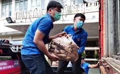 Thanh niên Lâm Đồng gửi 115 tấn rau đến vùng dịch