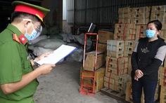 Bắt chủ cơ sở sản xuất cà phê Ngọc Sang, pha 80% đậu nành làm cà phê