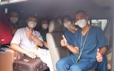 Long An đón tiếp đoàn hỗ trợ từ Bắc Giang bằng tình cảm ấm áp