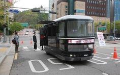 Hàn Quốc triển khai thí điểm xe tự lái thương mại ở Seoul