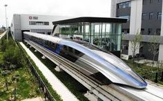 Trung Quốc ra mắt tàu đệm từ trường siêu tốc