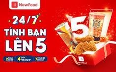 Ứng dụng giao đồ ăn Now kỷ niệm 5 năm có mặt tại Việt Nam