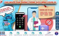 Người dân TP.HCM cần tư vấn chăm sóc sức khỏe có thể gọi 1022 - nhấn phím 3