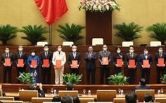Công bố tổng thư ký, chủ nhiệm, phó chủ nhiệm các ủy ban của Quốc hội khóa XV