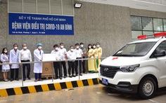 Bệnh viện An Bình nhận xe cấp cứu mới và hệ thống xét nghiệm RT-PCR đầu tiên