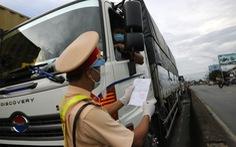 Bộ GTVT yêu cầu xét nghiệm lưu động cho tài xế chở hàng