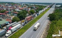 Chính phủ yêu cầu không kiểm tra với xe chở hàng thiết yếu có mã QR
