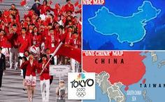 Trung Quốc phẫn nộ vì đài Mỹ chiếu bản đồ không có Đài Loan tại Olympic Tokyo