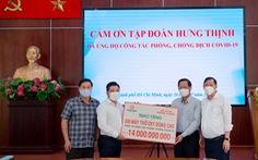 Tập đoàn Hưng Thịnh hỗ trợ khẩn hàng chục tỉ đồng cho TP.HCM chống dịch COVID-19