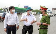 Hà Nội mở tối đa 'luồng xanh', các xe được đi xuyên qua thủ đô mà không bị kiểm tra