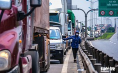 Tổng cục Đường bộ đề nghị cảnh sát giao thông dắt xe quá cảnh qua khỏi địa phận Hà Nội