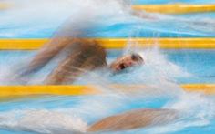 Huy Hoàng về đích thứ 5 ở đợt bơi vòng loại thứ ba 1.500m tự do nam