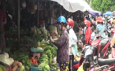 Hai người bán rau nhiễm COVID-19, đóng cửa chợ TP Vĩnh Long